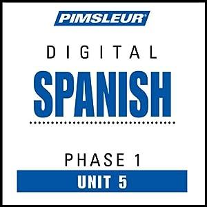 Spanish Phase 1, Unit 05 Audiobook
