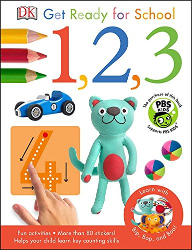 Bip, Bop, and Boo Get Ready for School: 1, 2, 3 (Skills for Starting School) ebook