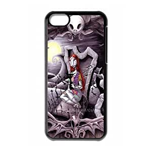 iPhone 5C Phone Case Black The Nightmare Before Christmas F6532437
