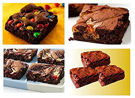 Amazon.com : 70th Birthday / Anniversary Gourmet Food Gift Basket Chocolate Brownie Variety Gift Pack Box (Individually Wrapped) 12pack : Grocery & Gourmet ...