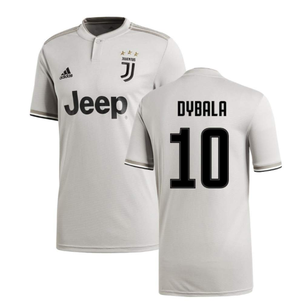 "2018-2019 Juventus Adidas Away Football Shirt (Paulo Dybala 10) B07JYPKNMR XS - 34-36"" Chest Size