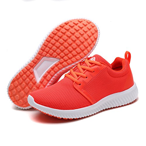 DREAM PAIRS Women's 170389-W Running Shoes Comfort Sneakers Coral