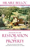 An Essay on the Restoration of Property, Belloc, Hilaire and Sharpe, John, 1605700258