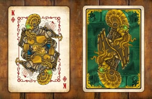 Steampunk Cthulhu Resurrection Playing Cards 4