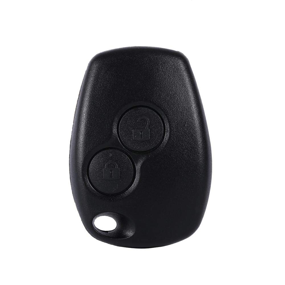 Cuque 2 Button Auto Car Key Remote Fob Shell Case for Renault Kangoo Modus Master 2006 2007 2008 2009 2010 2011 2012 2013 2014 2015 2016 2017 2018