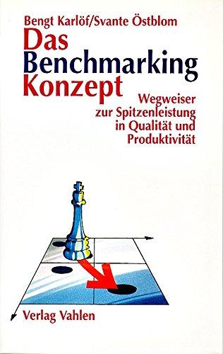 Das Benchmarking Konzept  Wegweiser Zur Spitzenleistung In Qualität Und Produktivität