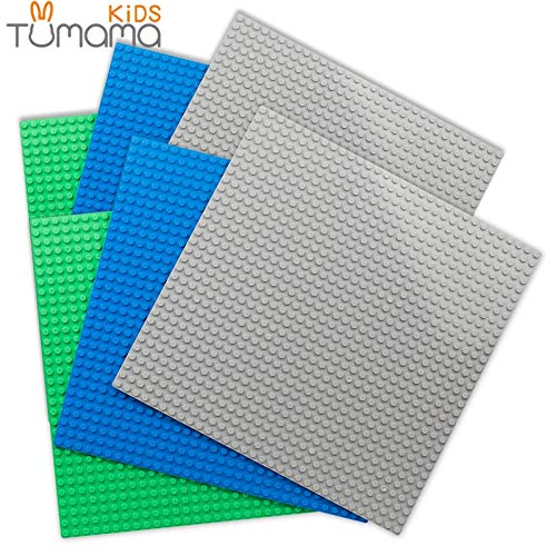 Best Quality 6pcs/Set 3232 dots Base Plate for Small Bricks baseplate Board Compatible legoed minecrafted DIY Building Blocks s for Kids -