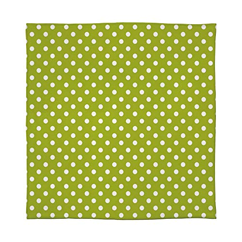 - YOLIYANA Warm Flannel Blanket,Retro,for Folding Bed Crib, Stroller, Travel, Couch and Bed,Size Throw/Twin/Queen/King,Vintage Old Fashioned 60s 70s Inspired Polka
