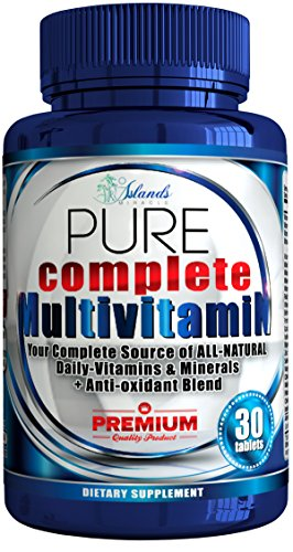 Multivitamin For Men And Women - Plus Daily Antioxidant All Natural Sourced Vitamins Not Synthetic Like Many Multivitamins - Best Vital Minerals Supplement for Adults Increase Energy For Workout