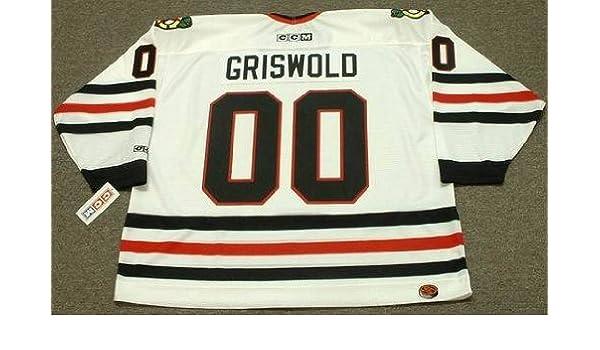 buy popular db9e1 390d3 CLARK GRISWOLD Christmas Vacation Chicago Blackhawks CCM ...