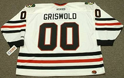 7eafb56be Image Unavailable. Image not available for. Color  CLARK GRISWOLD Christmas  Vacation Chicago Blackhawks ...