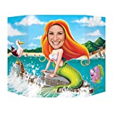 Beistle Mermaid Photo Prop, 3' 1-Inch  x 25-Inch