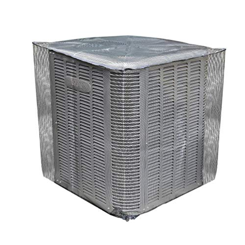 (Sturdy Covers AC Defender - Full Mesh Air Conditioner Cover - AC Cover - Outdoor Protection)