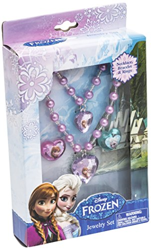 [Frozen Jewelry Set] (Disney Group Costumes Ideas)