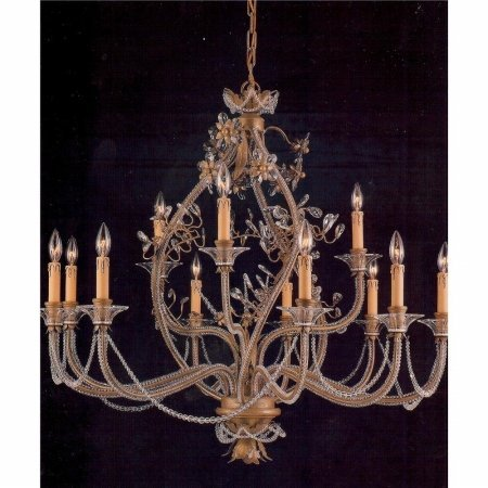 Weinstock Lighting 481293-10AG Antique Reproduction Chandelier - Weinstock Lighting 481293-10AG Antique Reproduction Chandelier