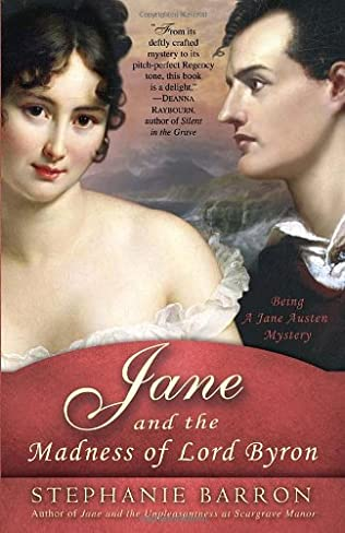 book cover of Jane and the Madness of Lord Byron