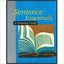 Amazon sentence essentials a grammar guide 0046442000369 sentence essentials a grammar guide 1st edition fandeluxe Image collections