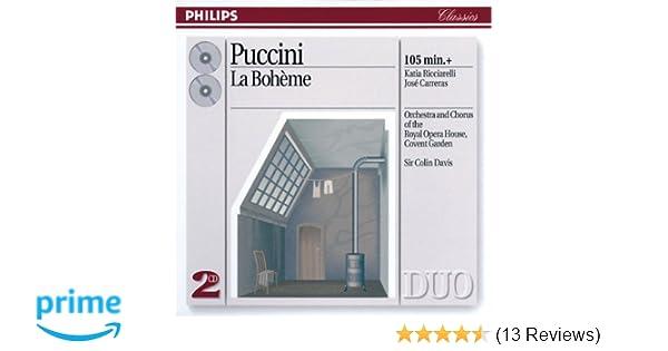 Giacomo Puccini, Sir Colin Davis, Royal Opera House Covent Garden Orchestra, Katia Ricciarelli, José Carreras, Ashley Putnam, Francis Egerton, ...