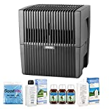 Venta LW25 AirWasher Humidifier and Purifier in Charcoal - Humidifies up to 400 Square Feet - Eucalyptus, 35oz Additive and Cleaner