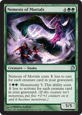 Magic: the Gathering - Nemesis of Mortals (163/249) - Theros