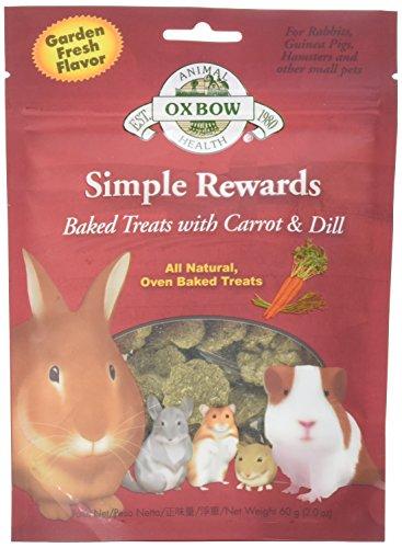 Oxbow Rewards Natural Carrots Timothy