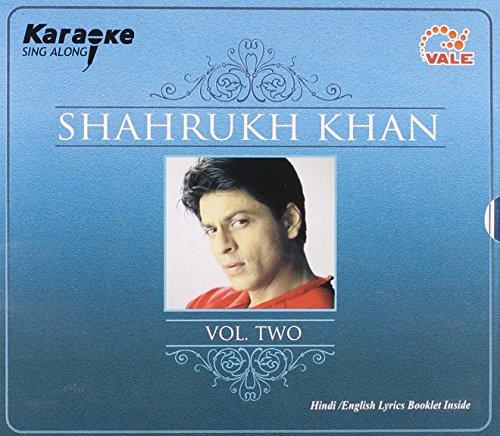 Karaoke Sing Along Shahrukh Khan Vol Two (Hindi / English Lyrics Booklet Inside) (Hindi Karaoke Cd)