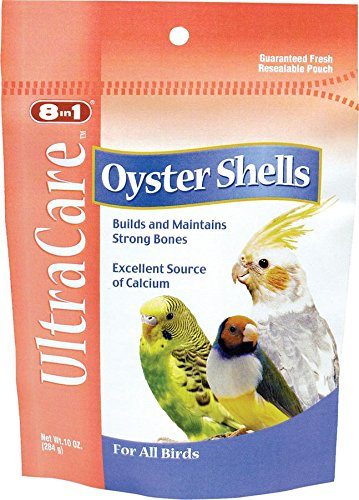 Cockatiel Gravel (Ecotrition Oyster Shells Bone Care for Birds, 10 Ounces (C212))