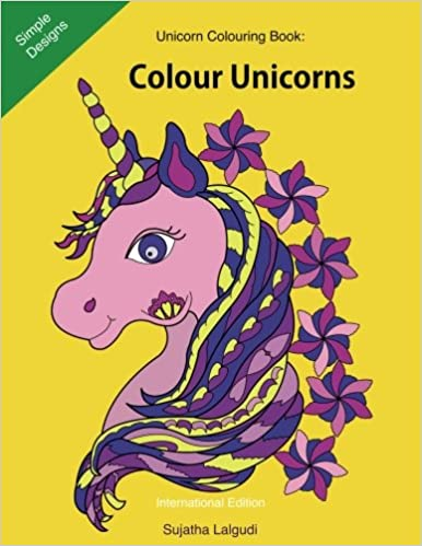 Unicorn Colouring Book Colour Unicorns 25 Beautiful To For Girls Gifts