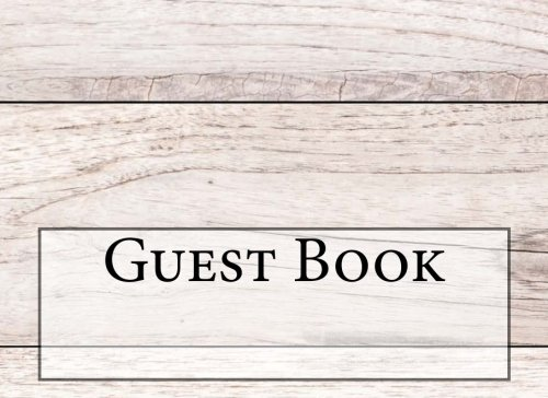 Guest Book: Wedding Guest Book (120 pages) Guest Sign-In Book Guest Registry Guestbook