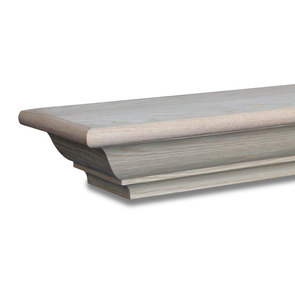 Amazon.com: Frederick Mantel Shelf Paint Grade Unfinished Poplar ...