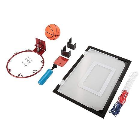 EBTOOLS Kit de Tablero Aro de Baloncesto de Pared Conjunto de ...