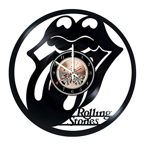 The Rolling Stones Design Art Vinyl Record Wall Clock 12