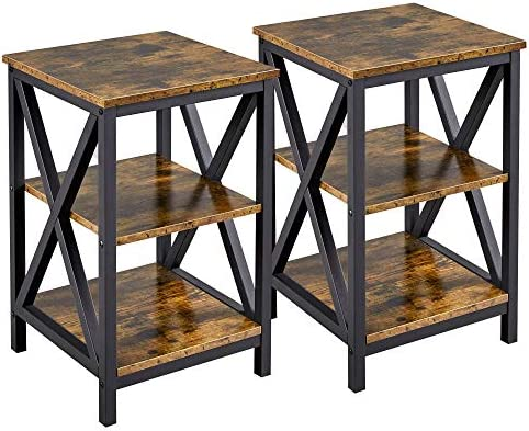 YAHEETECH Set of 2 End Table