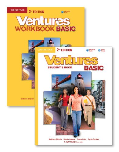 Ventures Basic Literacy Value Pack (Student's Book with Audio CD and Workbook with Audio CD)