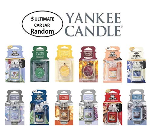 Yankee Candle Ultimate Car Jar Random Mixed Scents ()