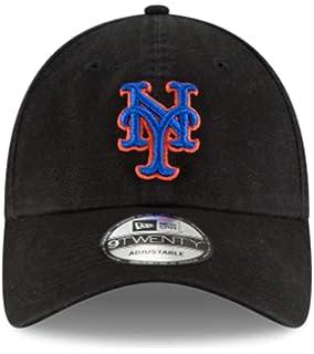OSFM New Era New York Mets Core Classic Black 9TWENTY Adjustable Hat