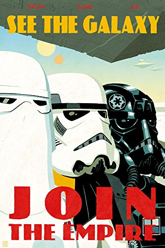 Star Wars Limited Edition Giclee on Canvas