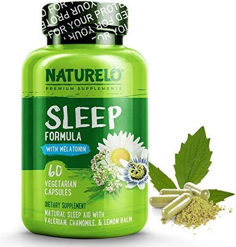 NATURELO Natural Sleep Aid Melatonin product image