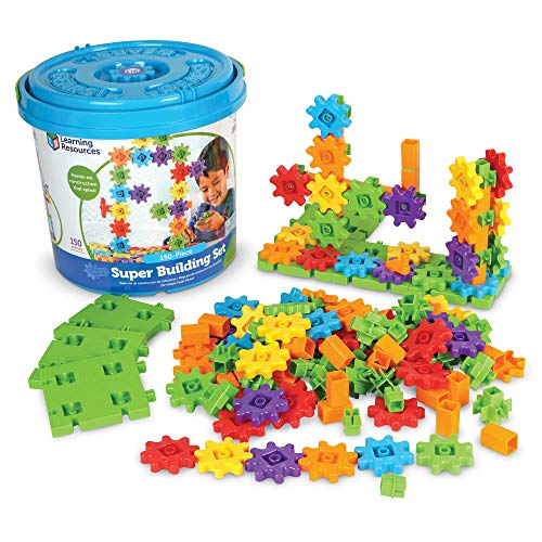 Learning Resources Gears Gears Gears Super Set - 150 Piece Set