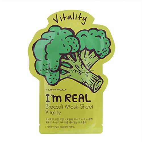 Tonymoly I`m Real Broccoli Mask Sheet Vitality (3 PCS)