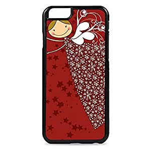 Case Fun Case Fun Red Christmas Angel Snap-on Hard Back Case Cover for Apple iPhone 6 4.7 inch