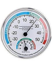siwetg Huishoudelijke analoge thermometer hygrometer temperatuurvochtigheidsmonitor meetinstrument meter