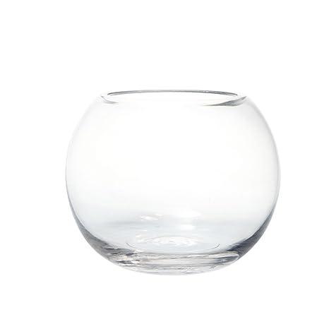"5 ""(12.5 cm) Vidrio Transparente pecera Burbuja Bola Mesa Boda Pantalla jarrón"