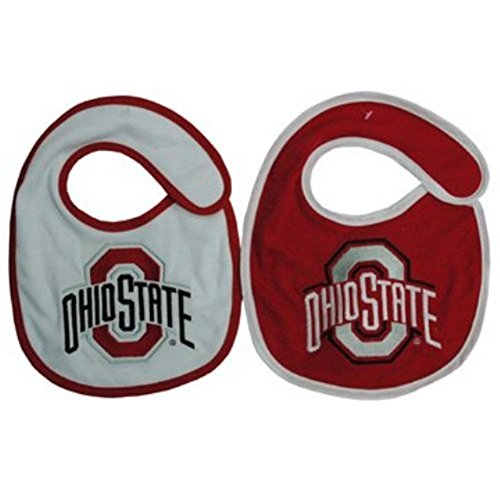 UPC 731247186065, NCAA Ohio State Buckeyes Infant Bib 2-Piece