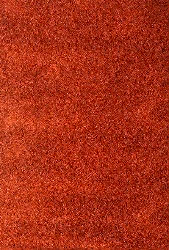 "picture of Abacasa Comfort Shag Rust 5'3"" x 7'6"" Area Rug"