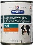 Hill's Prescription Diet w/d Canine Digestive/Weight/Glucose Management - Chicken - 12x13oz