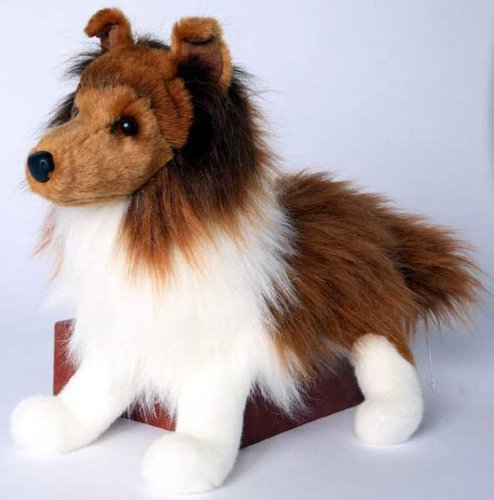 (Plush Stuffed Animal: Shetland Sheepdog by Douglas)