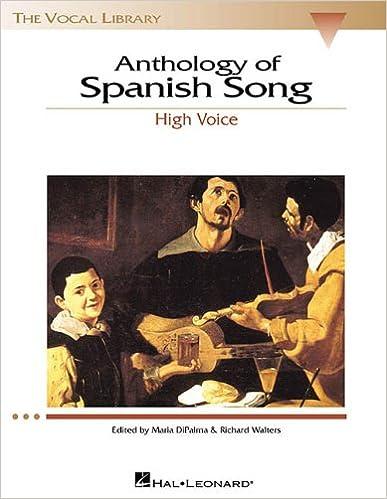 Ebook en txt descargar gratis Anthology of Spanish Song (Vocal Library) in Spanish PDF