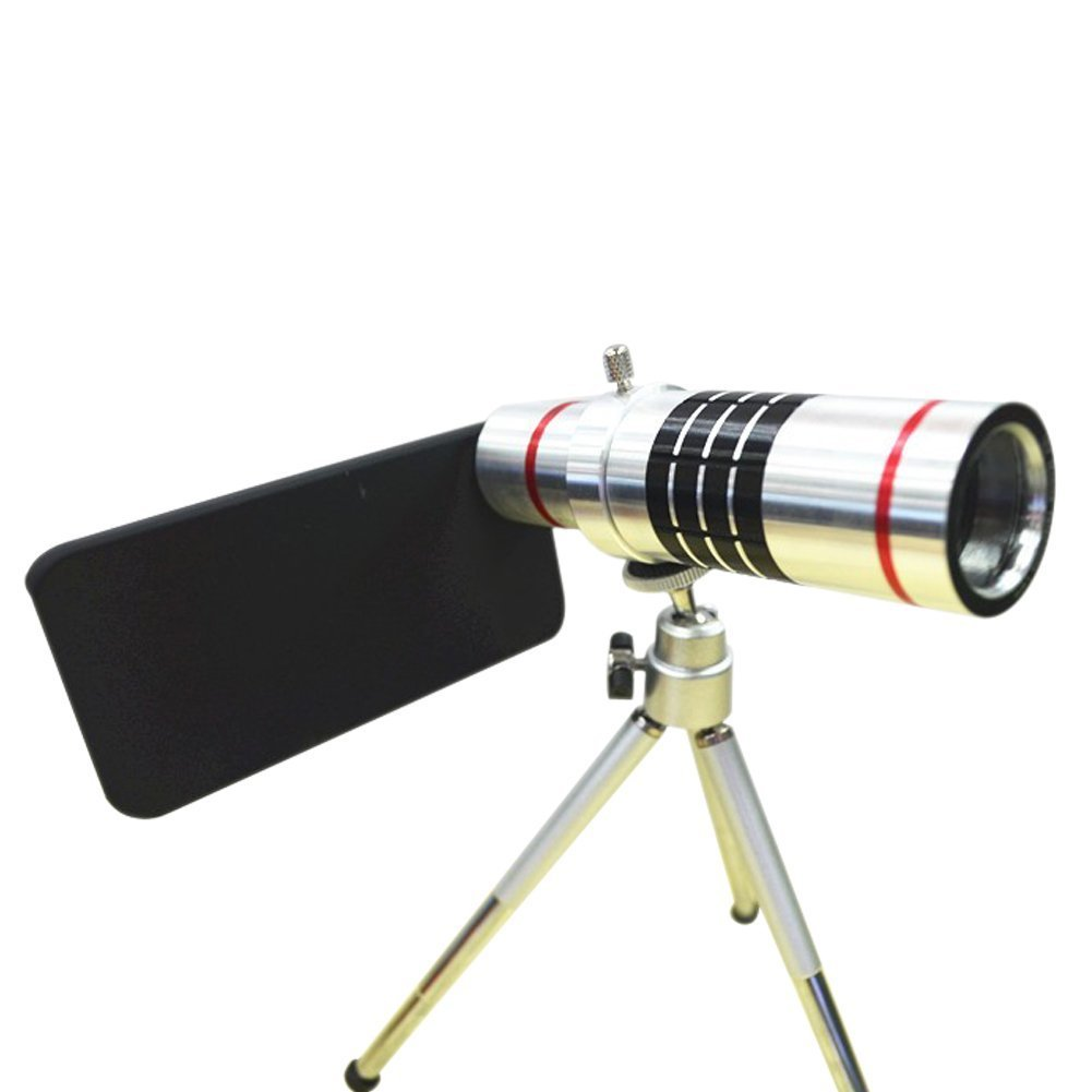 Amazon.com: 18x Optical Zoom Telescope Camera Lens with Tripod for iPhone 5/5s: Cell Phones & Accessories