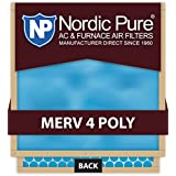 Nordic Pure 14x30x1M4Poly-6 Quantity 6 MERV 4 Poly TA Disposable Air Filter